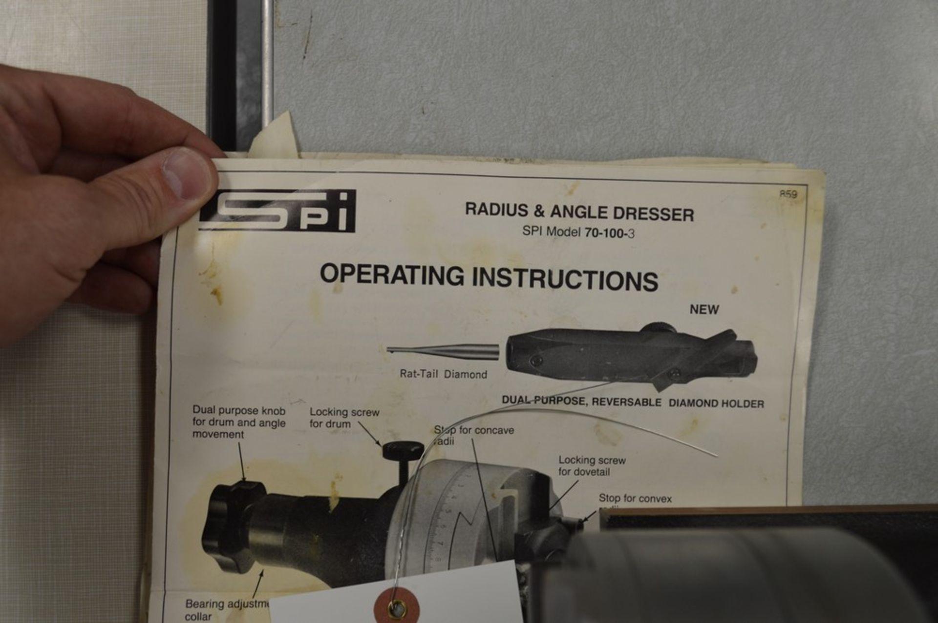 SPI Grinding Wheel Radius and Angle dresser - Image 3 of 3