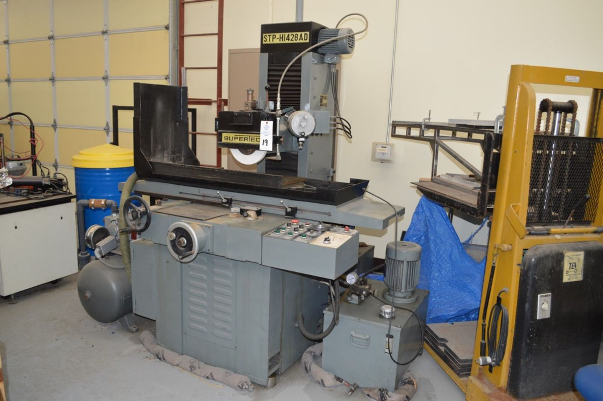 Supertec, STP-H1428 AD Grinder, Full three axis hydraulics, 12 x 27 magnetic chuck - Image 7 of 9