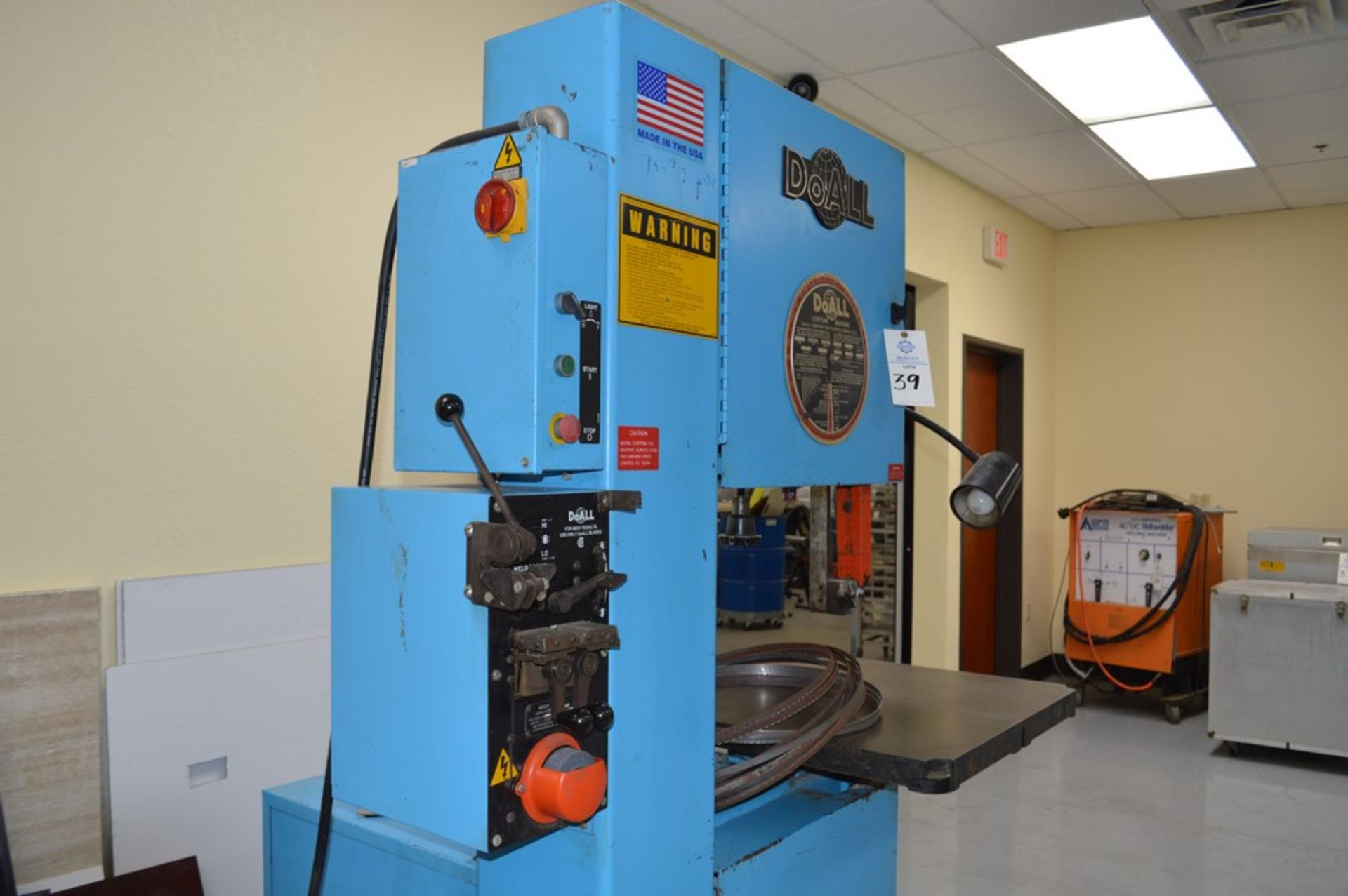 """Do-All, 2013-V, 154"""" Band, with extra bands and DBW-15 welder - Image 3 of 7"""