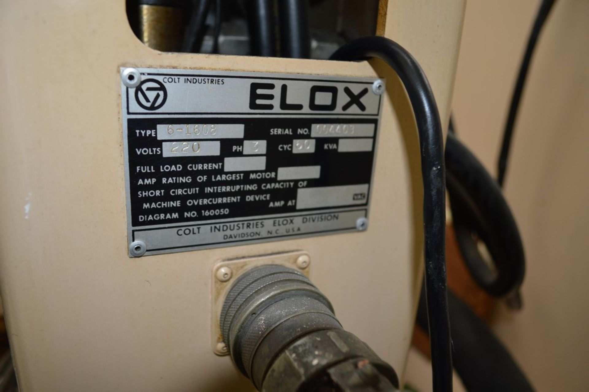 Elox small hole Plunge EDM Systems submersible EDM, Analam mini wizard DRO, benchtop model, 16 x 8 - Image 6 of 8