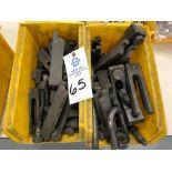 Heavy duty tie downs/lock downs (2) yellow bins