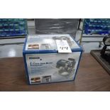 Chicago Electric 120v circular saw blade sharpner, appears new in the box