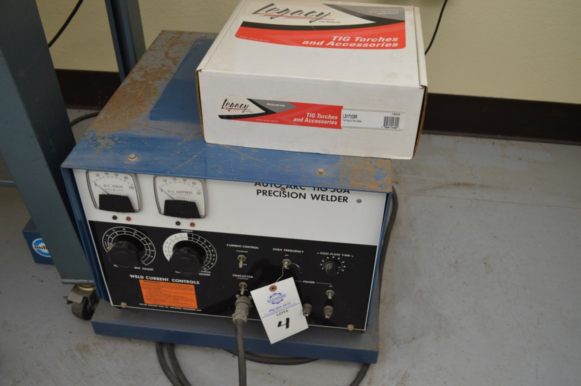 Miller Auto Arc Tig 50A With Tig Legacy 25' Torch Package