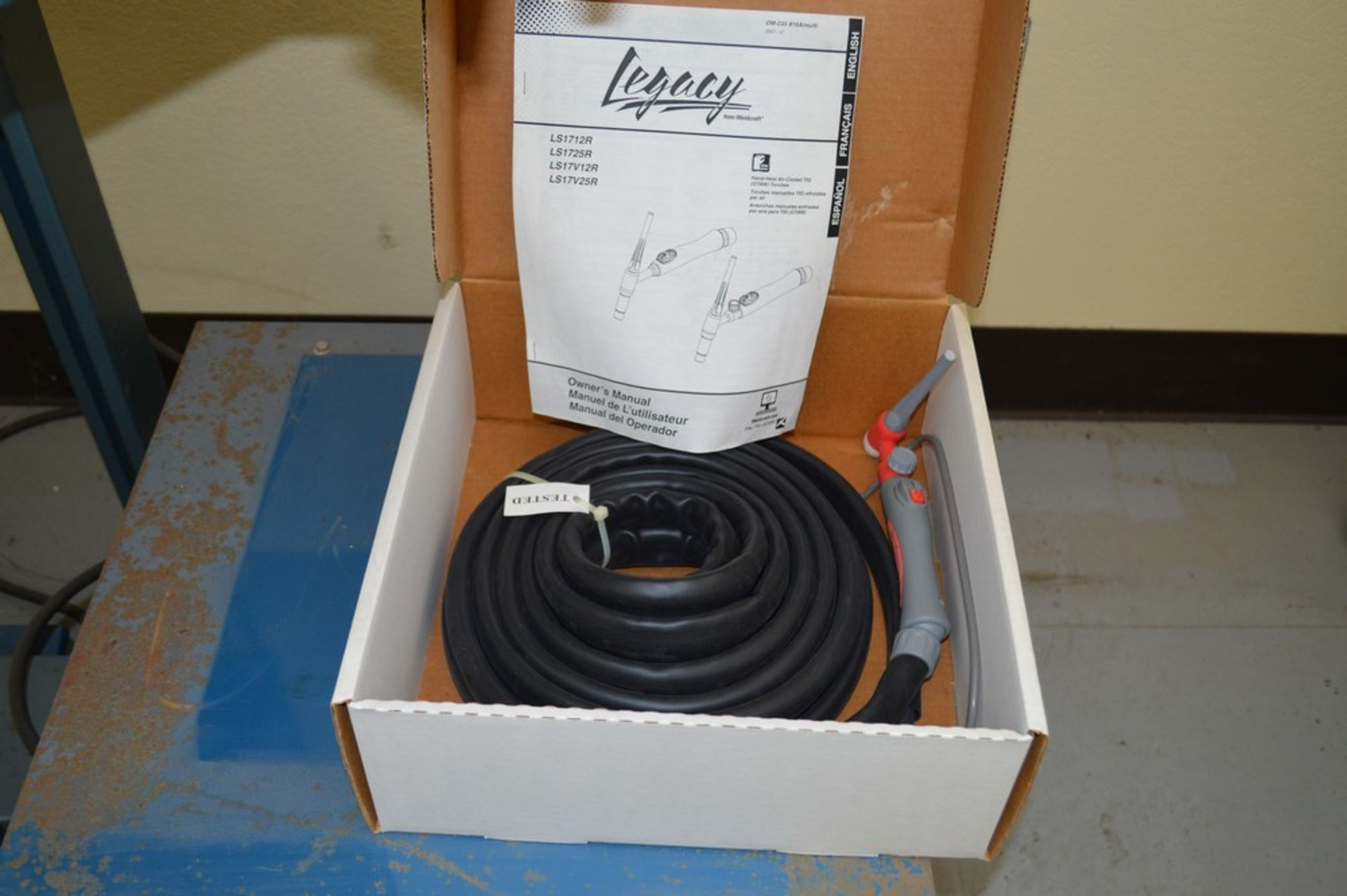 Miller Auto Arc Tig 50A With Tig Legacy 25' Torch Package - Image 4 of 4