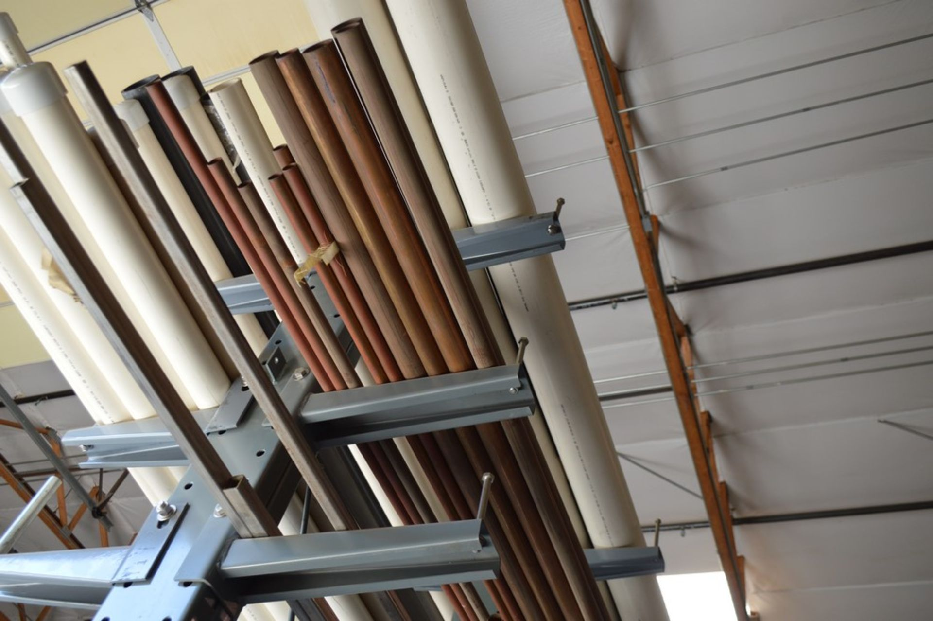 """Two Sided metal """"Gorrila"""" storage racking with all contents, copper, Stainless Steel, pvc, and more, - Image 5 of 7"""