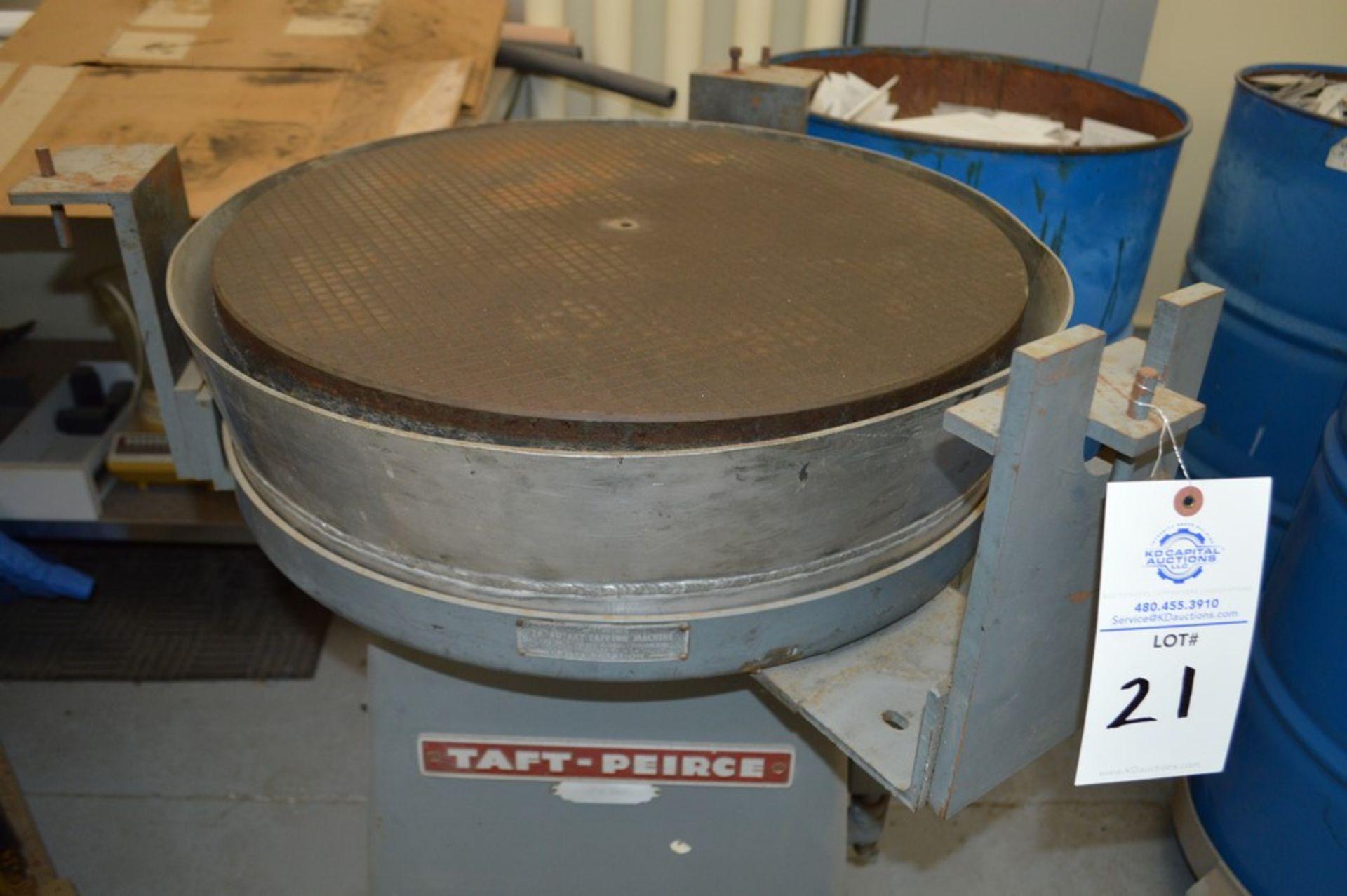 "Taft-Peirce 24"" Rotary Lapping machine S/N 217 - Image 2 of 4"