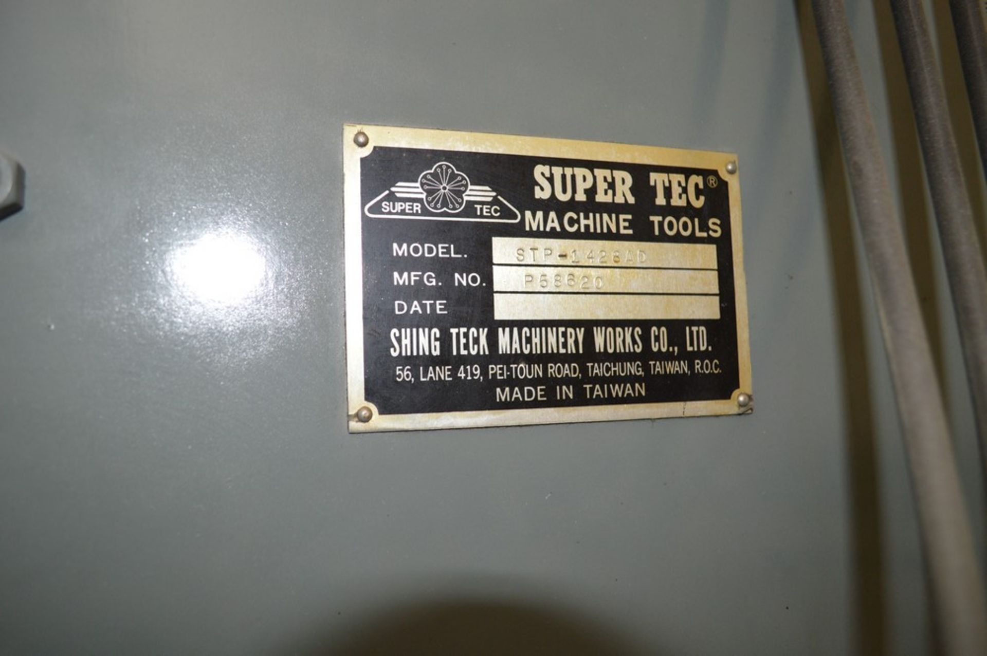 Supertec, STP-H1428 AD Grinder, Full three axis hydraulics, 12 x 27 magnetic chuck - Image 8 of 9