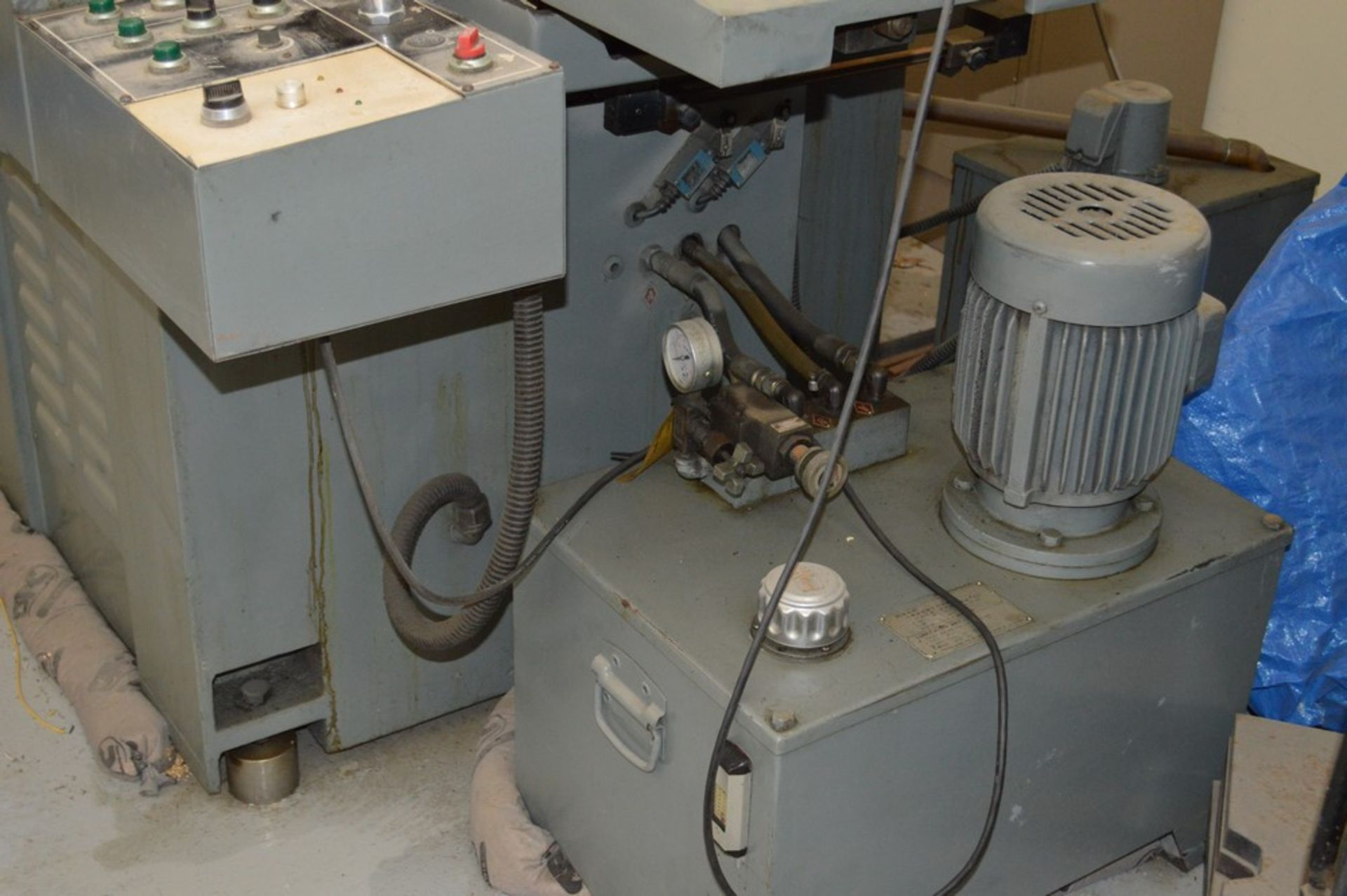 Supertec, STP-H1428 AD Grinder, Full three axis hydraulics, 12 x 27 magnetic chuck - Image 5 of 9