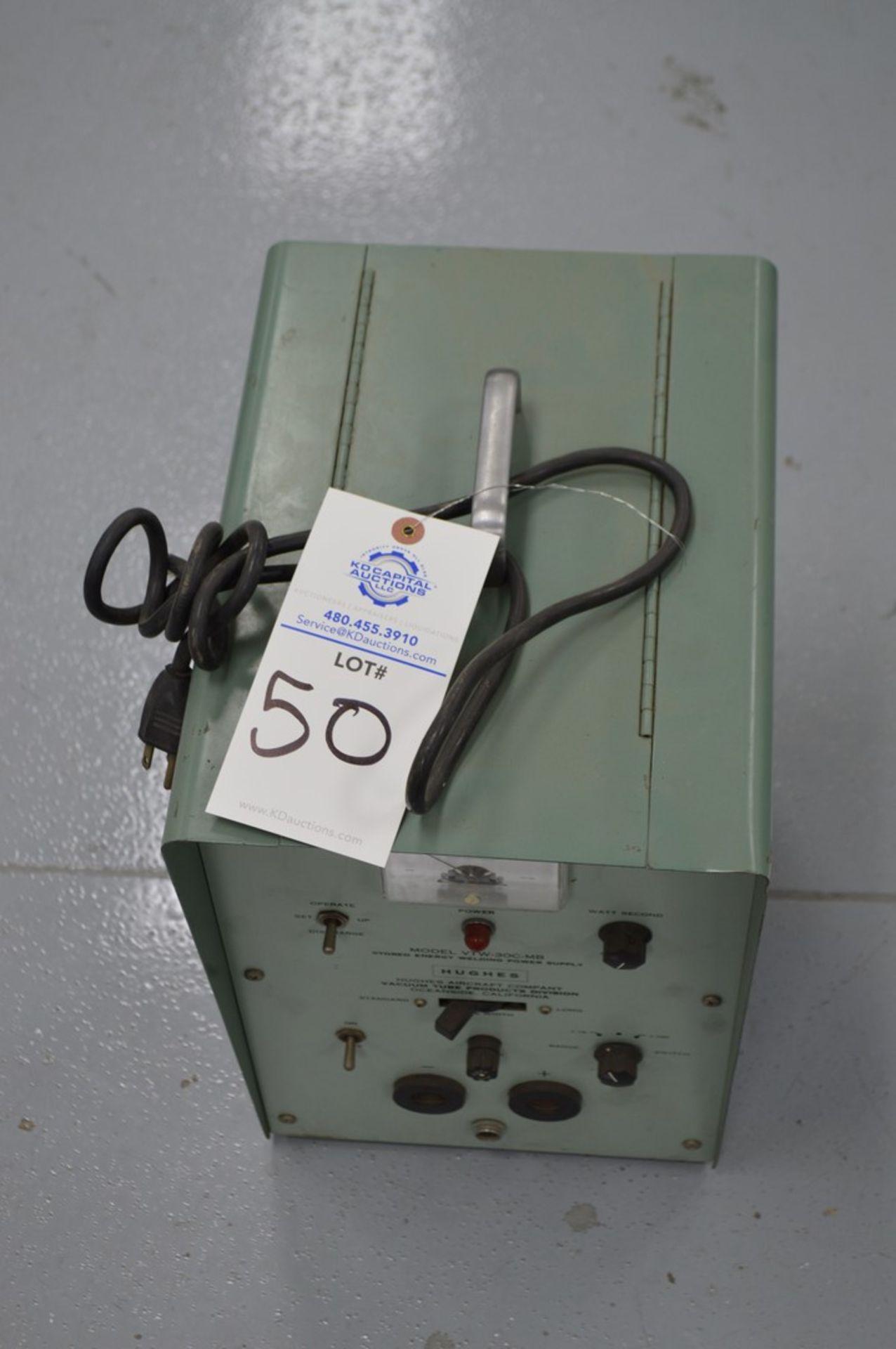 Hughes Model VTW-30C-MB Capacitance discharge spot welder