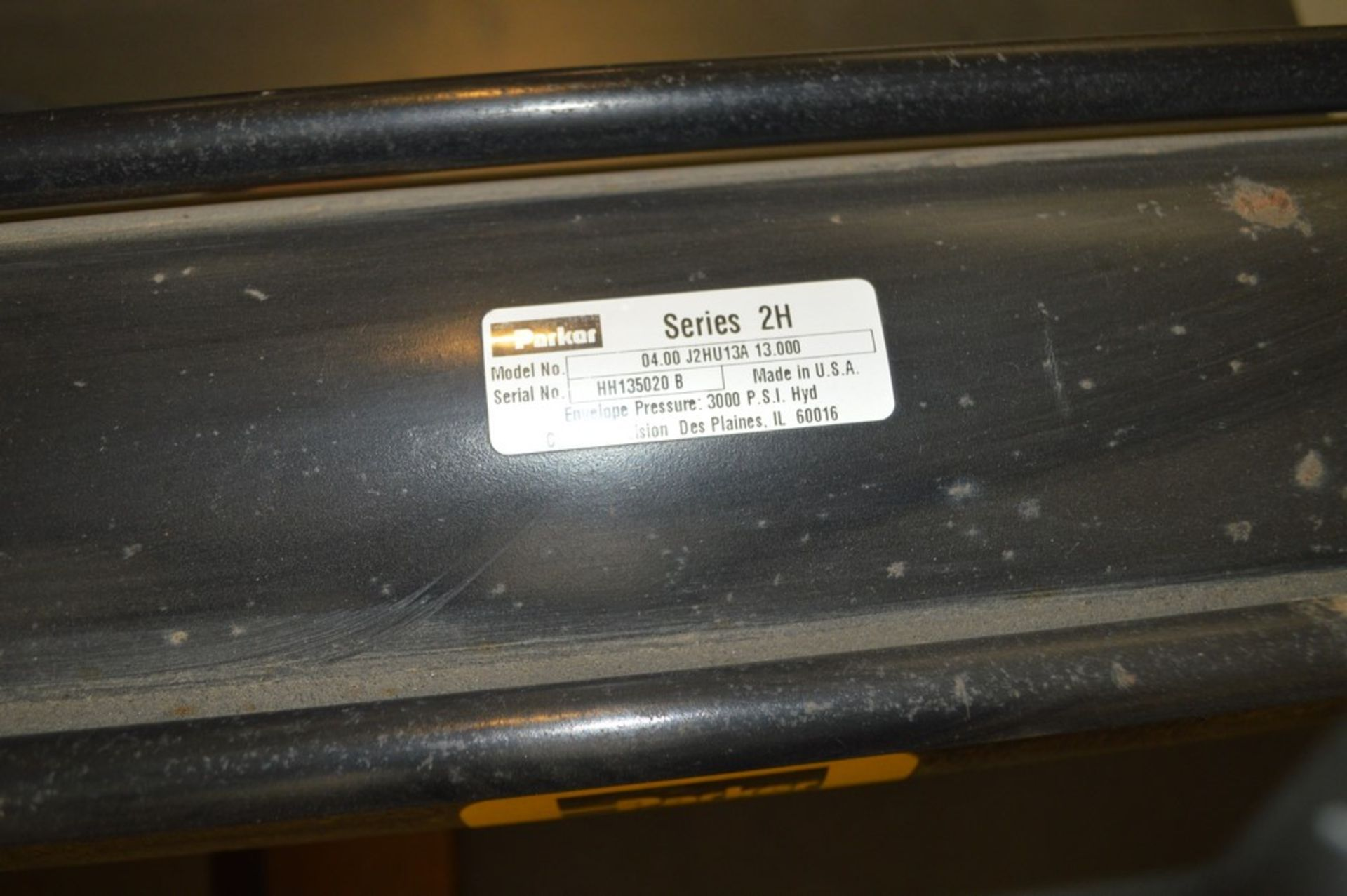 4 Post horizontal press with stand, 3000 psi, RAM speed controls - Image 6 of 8