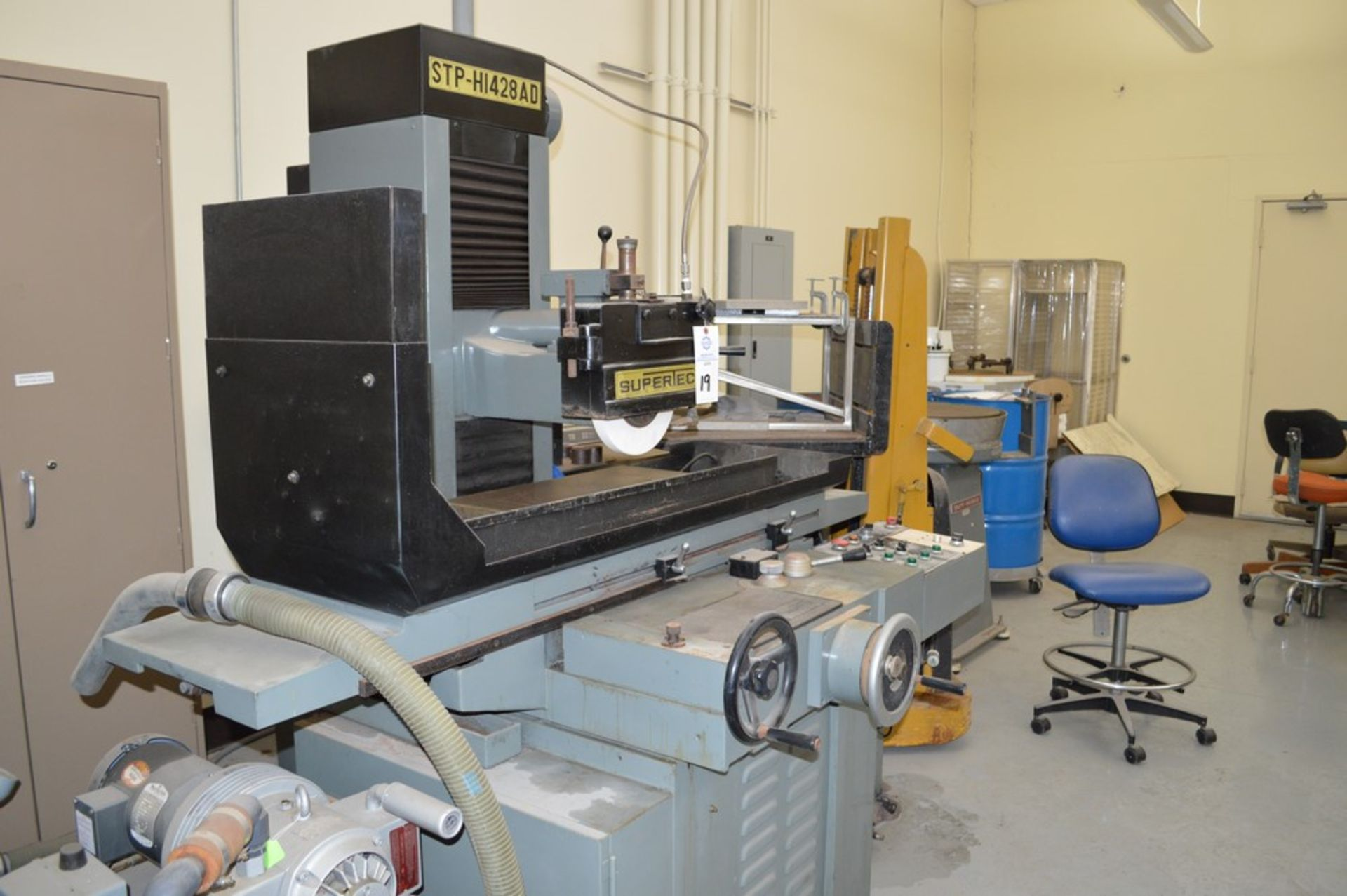 Supertec, STP-H1428 AD Grinder, Full three axis hydraulics, 12 x 27 magnetic chuck - Image 6 of 9