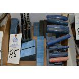 Plug gauges, T Handle hex tools, mill setup blocks