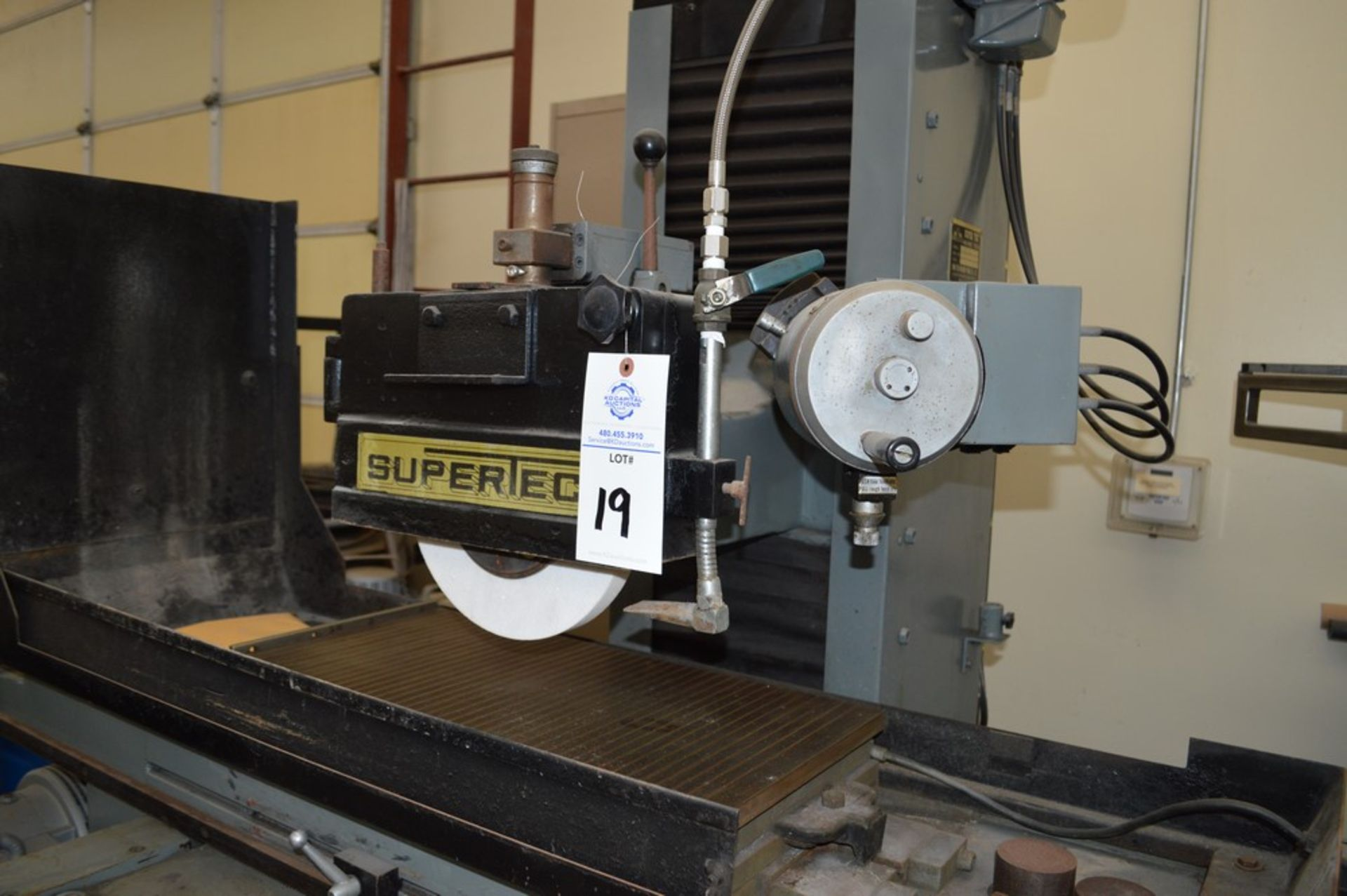 Supertec, STP-H1428 AD Grinder, Full three axis hydraulics, 12 x 27 magnetic chuck - Image 9 of 9