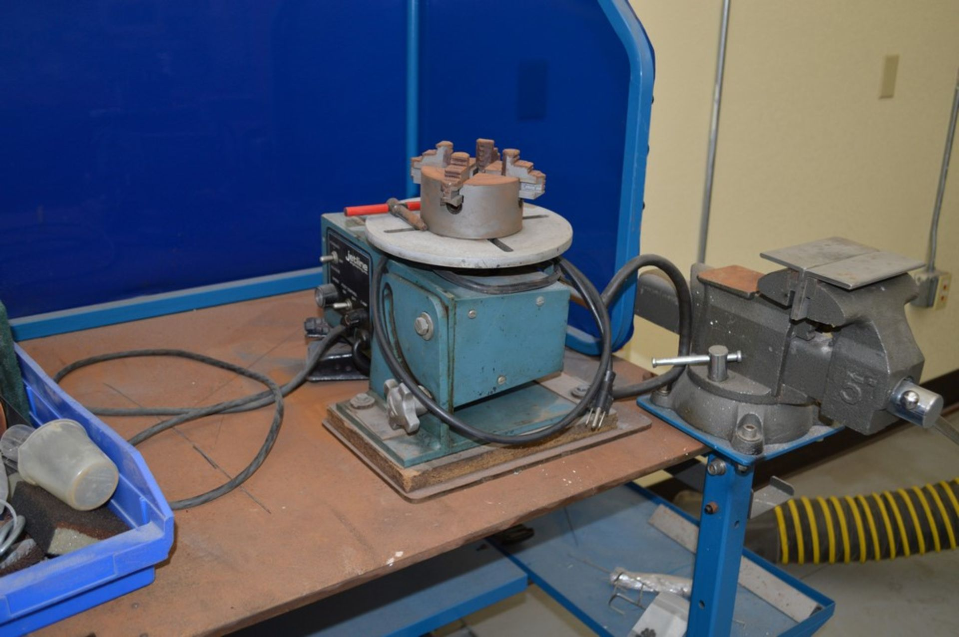 """Miller Welding Table, 3 Drawers, Jetline System not included in sale, Magnetic Hold Downs, Manual 5"""" - Image 2 of 6"""