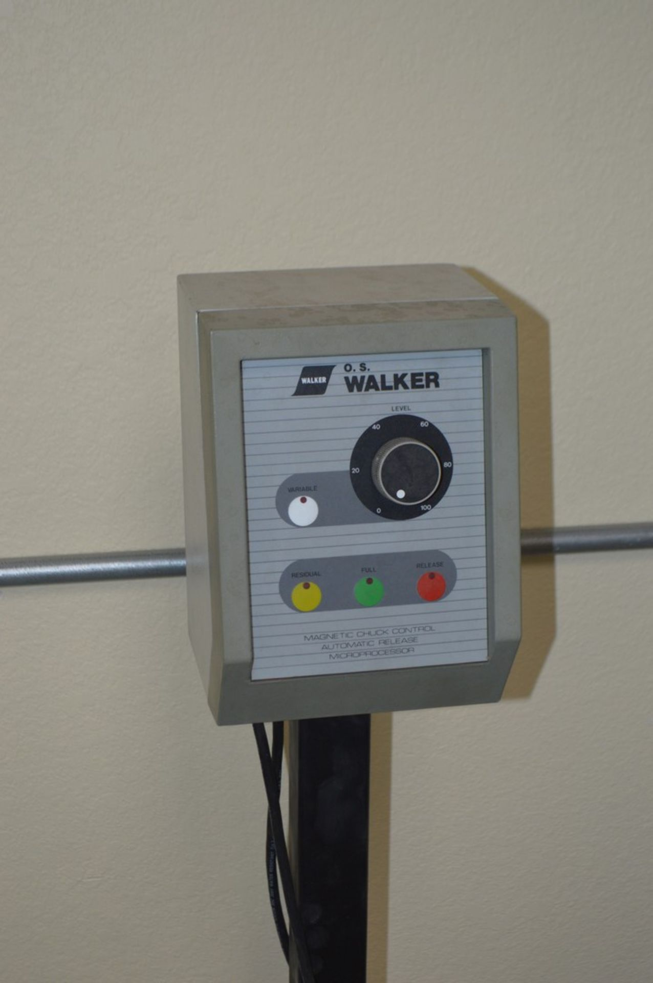 Chevalier FSG618M surface grinder with magnetic chuck, coolant and Walker control unit - Image 3 of 7
