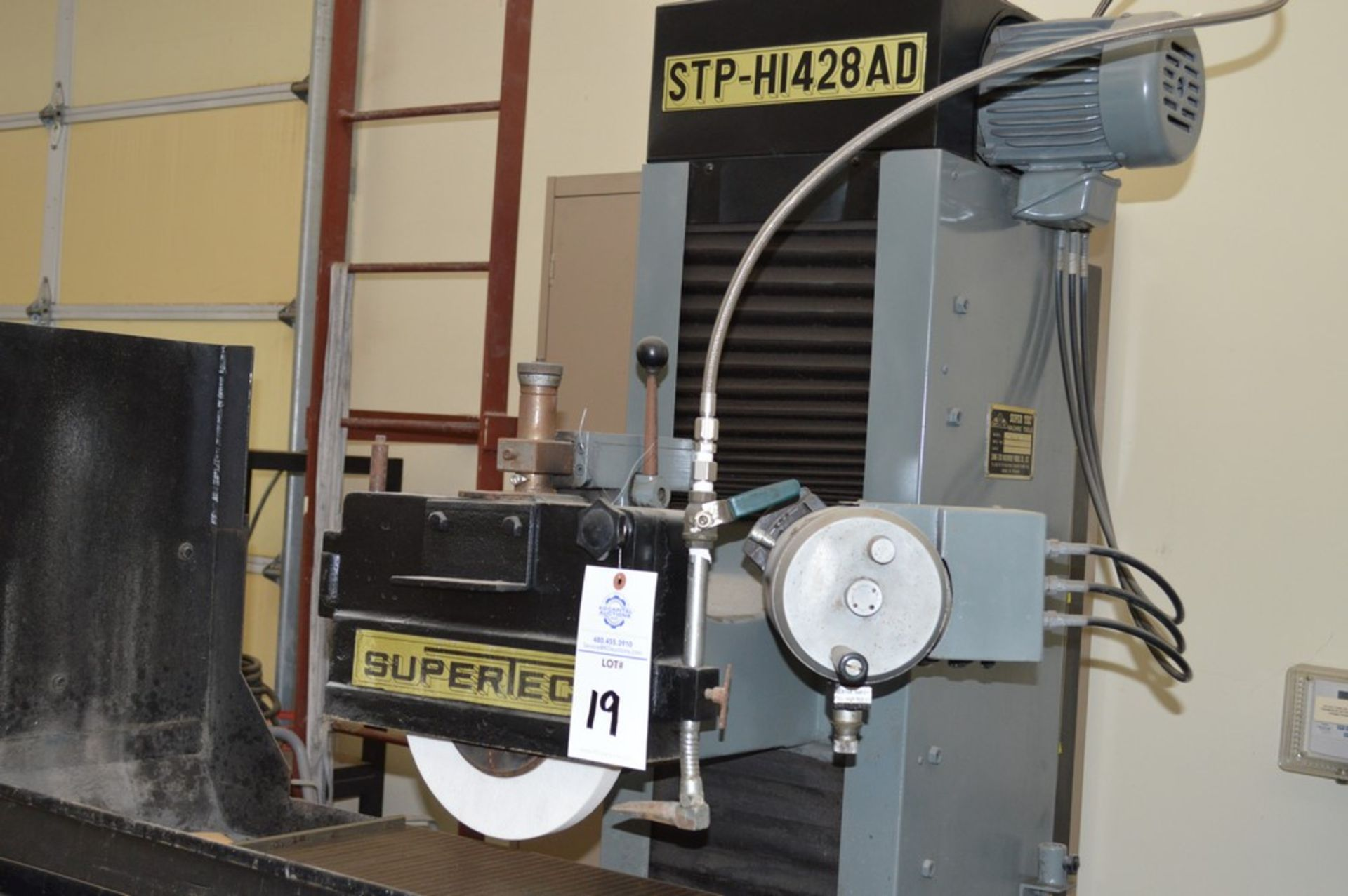 Supertec, STP-H1428 AD Grinder, Full three axis hydraulics, 12 x 27 magnetic chuck