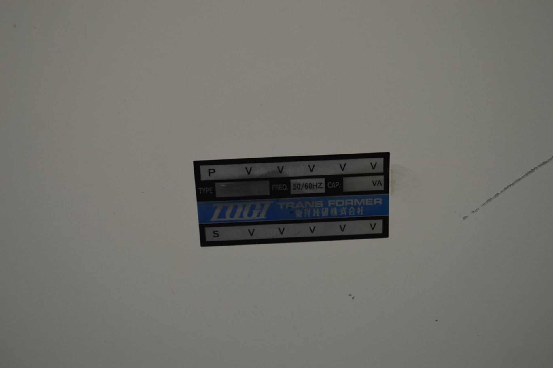 Tegi transformer 480 x 208 y, 200a - Image 5 of 6