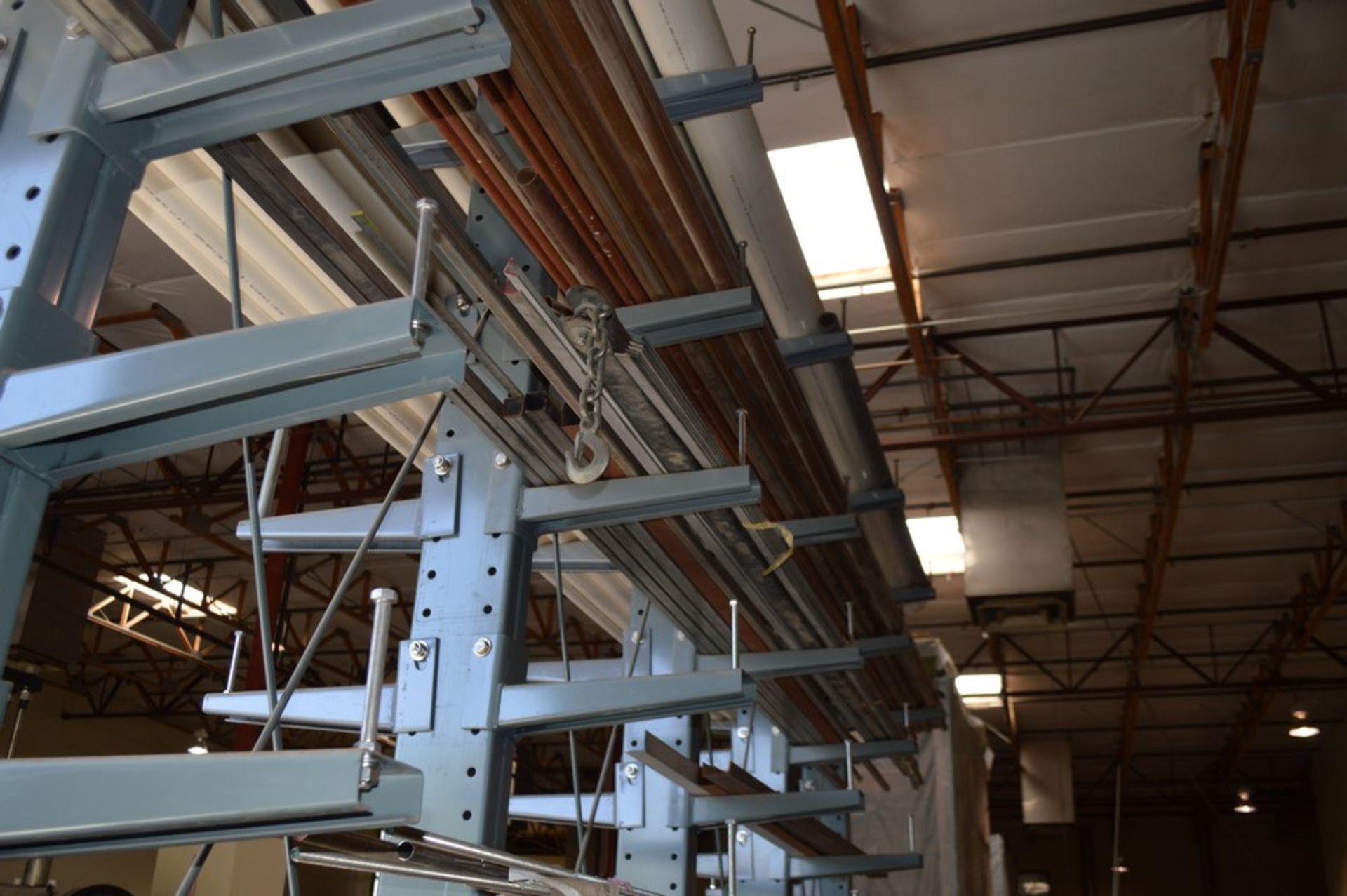 """Two Sided metal """"Gorrila"""" storage racking with all contents, copper, Stainless Steel, pvc, and more, - Image 6 of 7"""