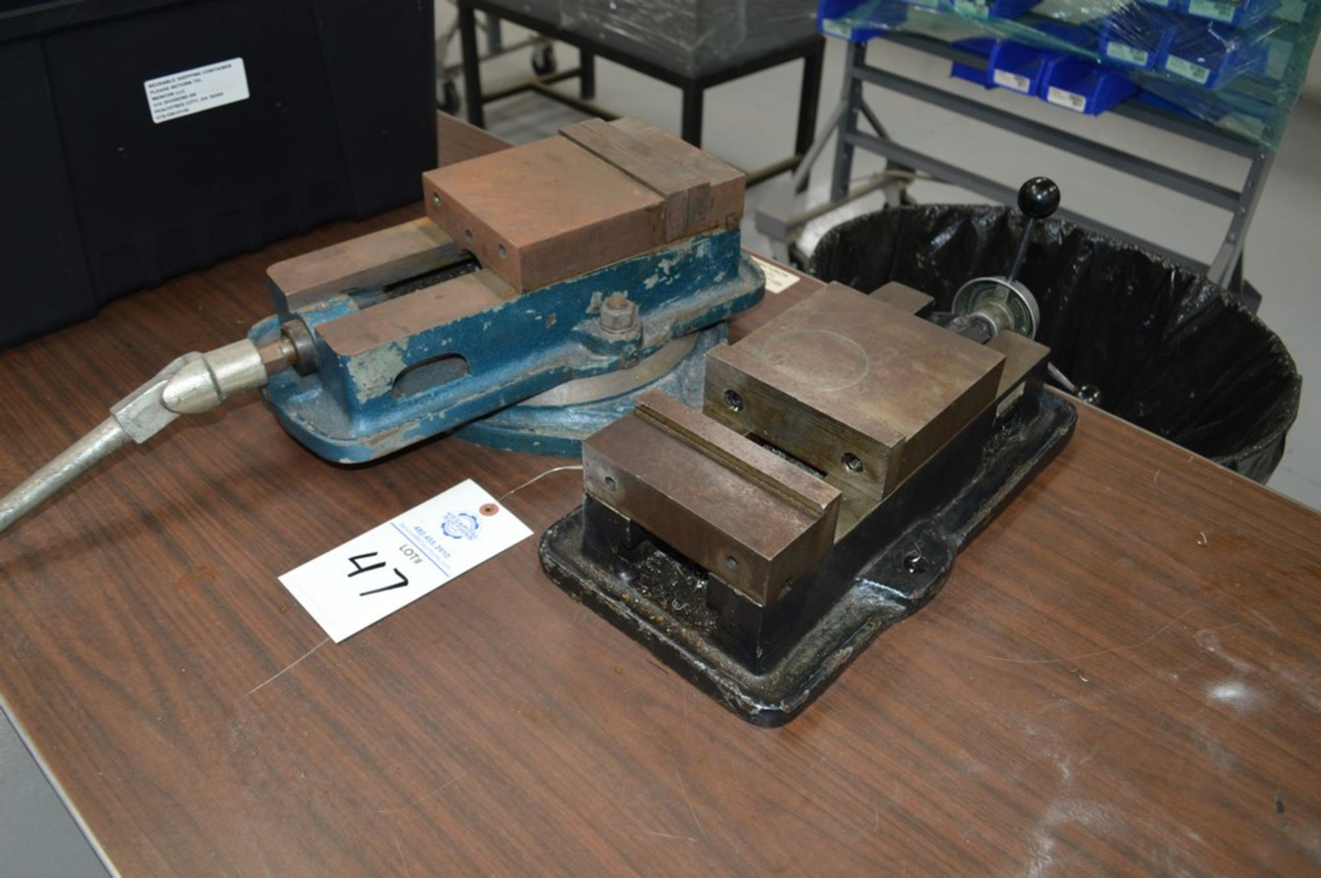 """Enco Model 425-7261 milling machine vise with another 6"""" misc milling machine vise (2 Total) - Image 2 of 2"""