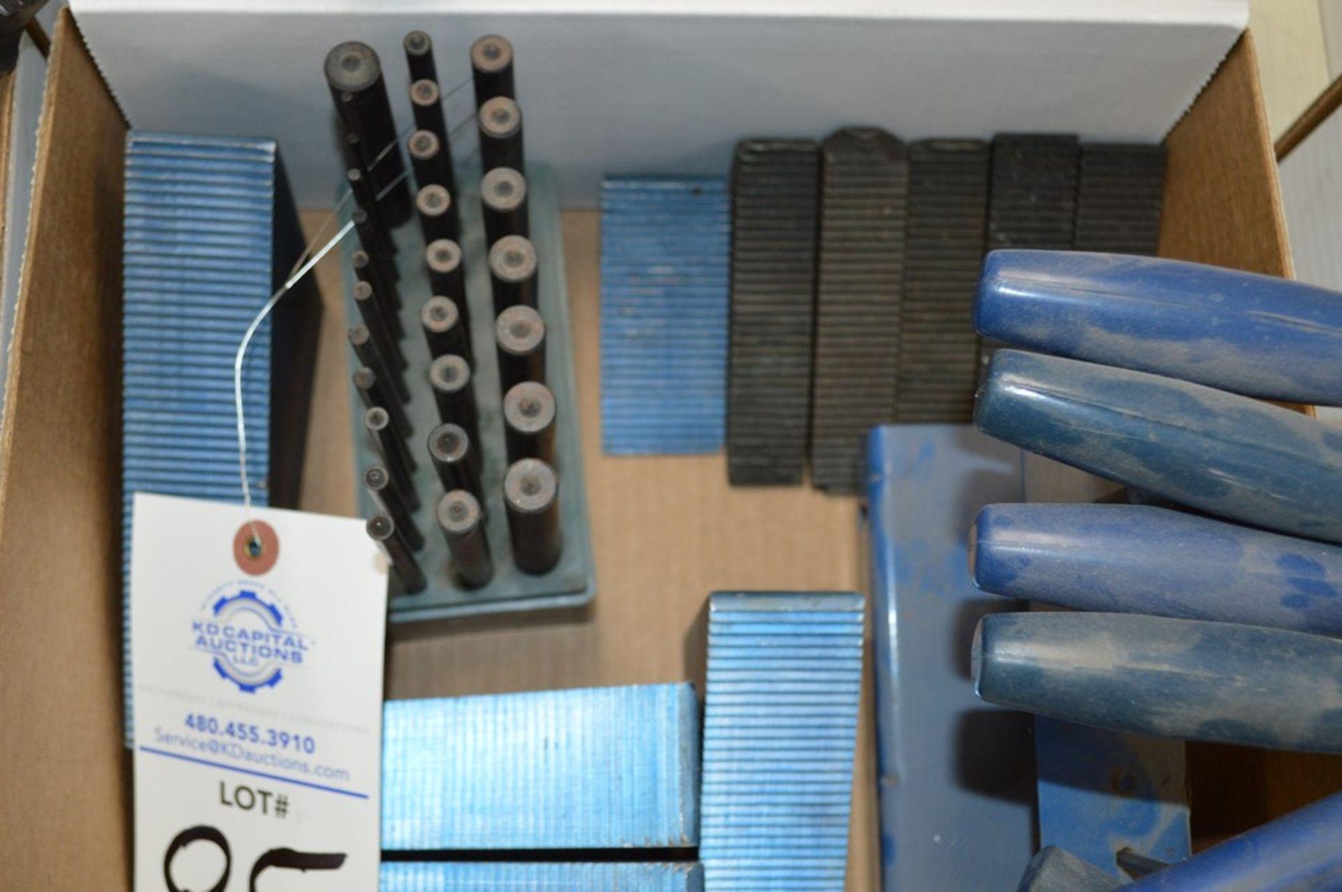 Plug gauges, T Handle hex tools, mill setup blocks - Image 2 of 4