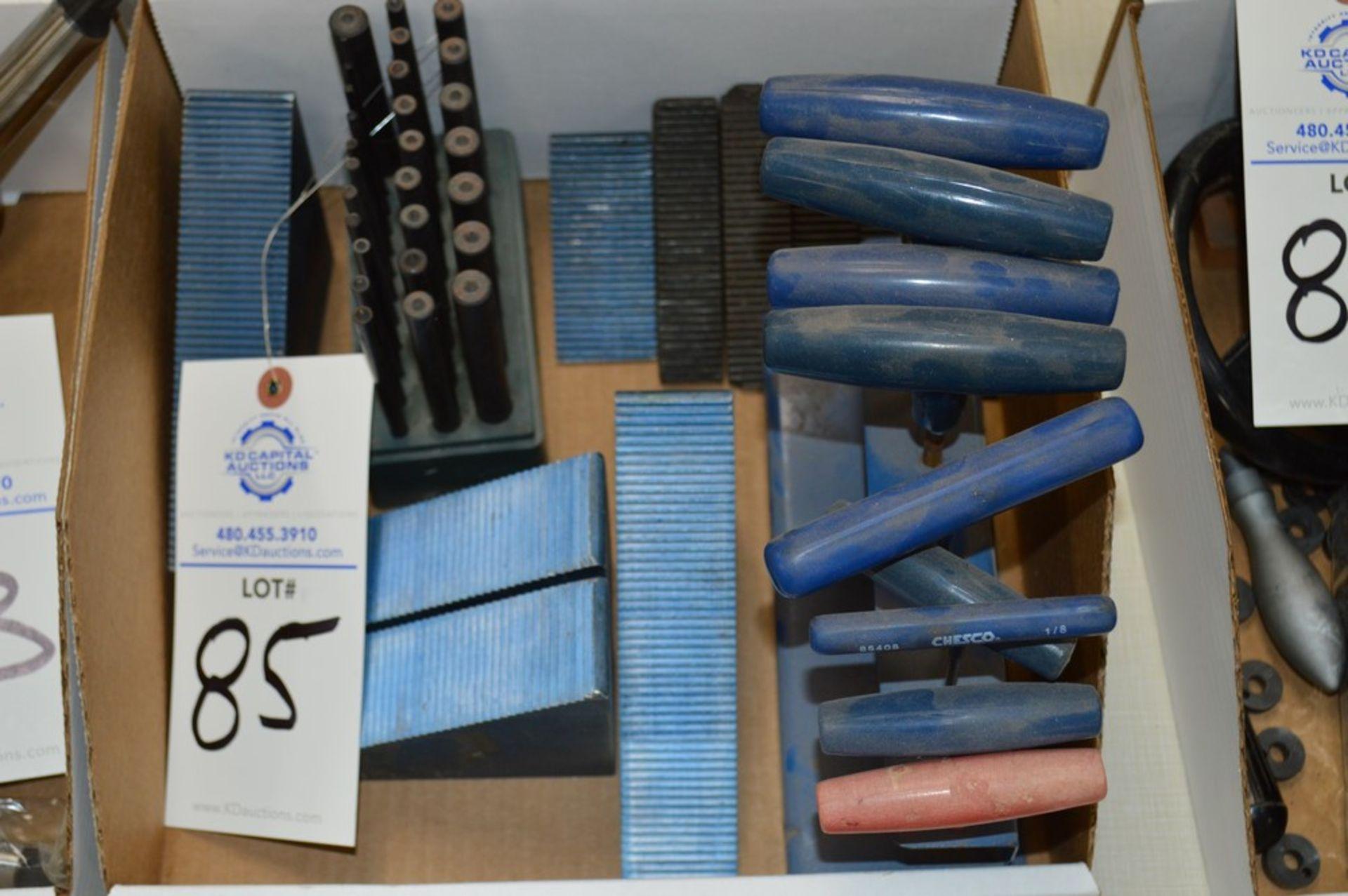 Plug gauges, T Handle hex tools, mill setup blocks - Image 4 of 4