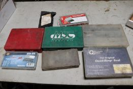 Quad Ping Seals, Shape Ringer Assortment & Various Size Roll Pin, Air Fitting