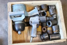 1/2'' drive impact driver pneumatic Ingersoll rand, chicago pneumatic impact wrench w/ large