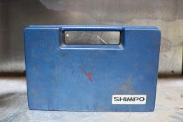 Shimpo 6'' Handheld Led Digital Laser Tachometer