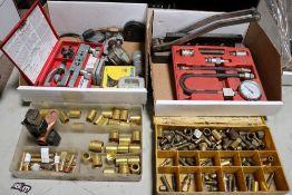 Hose Crimper, Fercels and Battery Cable Crimper, Smaller Hose Crimper, Small Ridgid Pipe Cutter &