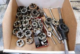 Box of Dies w/ Manual holders