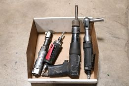 chicago pnuematic air hammer, husky reactionless pnuematic ratchet, husky 1/4'' die grinder,