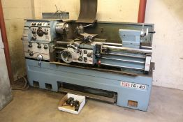 Acraturn 16x40, 8'' chuck, tailstock, steady rest, tool post w/ tooling