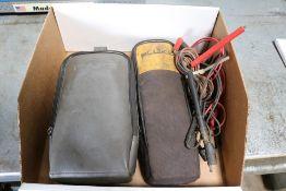 (2) Fluke Voltage Meters