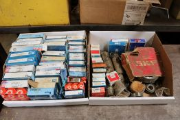 (2) Boxes of Assorted Bearings