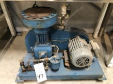 Duriron Company PPI Division Motor Driven Hydraulic High Pressure Diaphragm Type Gas Compressor, box