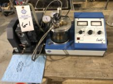 Ladd Sputter Coater for SEM sample preparation, Welch 1400 Duo Seal two stage vacuum pump