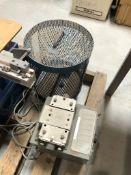 Harvard Apparatus Model 1201 Peristaltic pump, Challenge Machinery Company Model JO paper drill,