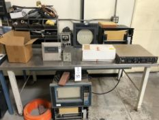 Lot of misc. control electronics, leads, includes Honeywell DPR-1500 parts machines (X3) several