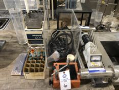 (2) Canberra Cryostat Model 7600 Radiation Detector, Model 7229 with mounted pre-amplifier model