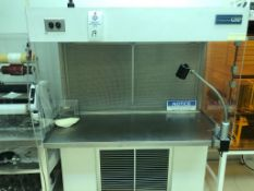 """Clean Room Products Horizontal Laminar Flow Class 10 Assembly Bench includes custom 21.5"""" Deep x"""