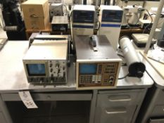 BK Precision 15 MHz Oscilloscope , Viking Instruments Norland Multi-channel analyzer with SCA, 2