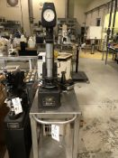 Wilson Model 5 JR BB Hardness Tester with 2 sets of weights, roller cart not included.