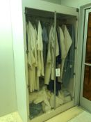 Cleanroom Garment Enclosure as shown, and many other cleanroom garment and cleaning supplies.