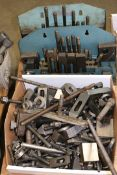 Large Lot of Mill Clamps and Mill Clamp Kits
