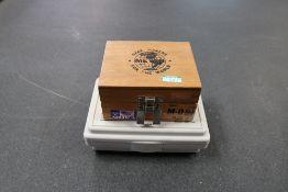 "Meyer Model M-0 Plug gages .011 - .060"" Complete and SPI M-O Minus Pin Gage Set Complete .011 - ."