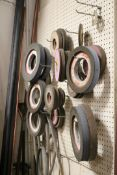 Lot of Various Size Grinding Wheels