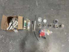 Lot of Edge Bander Parts and Tools.