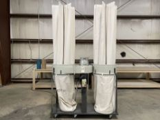 2018 Northtech NT-DC005-73 Dust Collector. SN 184602, Year 2018. Equipped with 7.5 HP motor, 4900