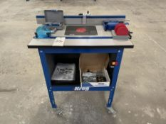 """Kreg PRS1045 Precision Router Table System. Equipped with 24"""" x 32"""" router table, 36"""" T square style"""