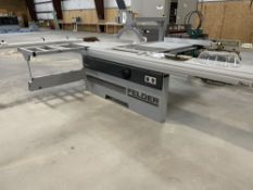 2018 Felder K 540S Sliding Table Saw. SN 441.07.188.18, Year 2018. Equipped with 140 mm cutting